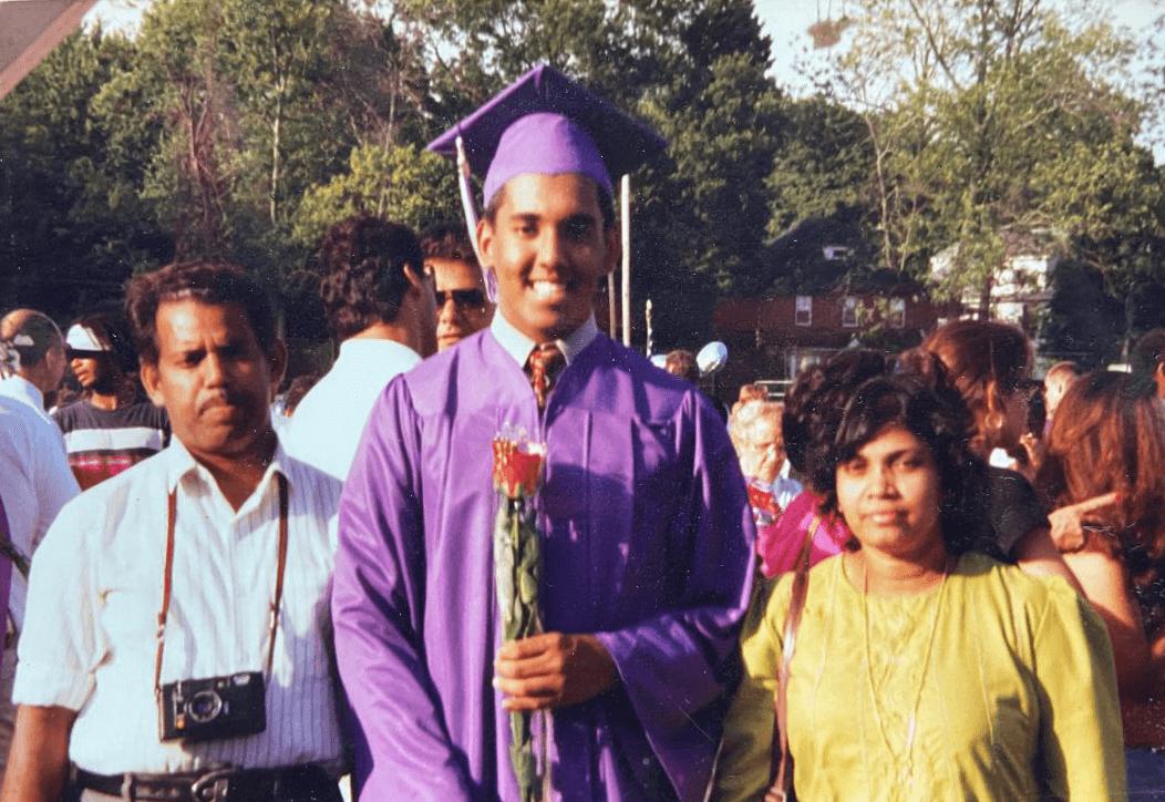 Sunil's Graduation with Parents